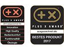 Plus X Award für die Servitec Mini
